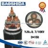 xlpe絶縁電源ケーブル、 最大定格電圧から35kv-電源ケーブル問屋・仕入れ・卸・卸売り