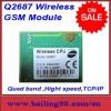 ワイヤレスgsmwavecomq2687/gprsモジュールtcp/ip高速サポートクォードバンド-無線のネットワーク設備問屋・仕入れ・卸・卸売り