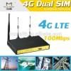 二重simのルータの4g4glteモバイル二重simwif産業用無線lanルータdinレール-無線のネットワーク設備問屋・仕入れ・卸・卸売り